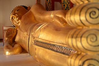 Imagine de Reclining buddha. travel nature thailand bangkok culture buddhism temples chiangmai krabi lanna tempel sukhothai lampang kolanta ayutthaya reizen 2014 arps paularps afsdxnikkor18140mm