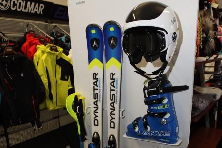 Specialista na lyže Dynastar a boty Lange