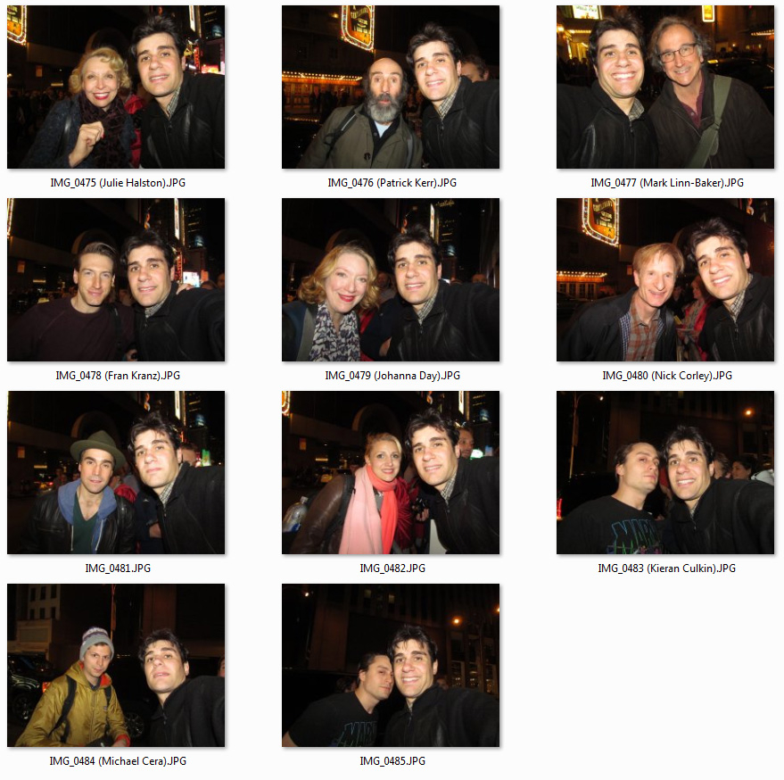 celebrity meet and greets in nyc 2014