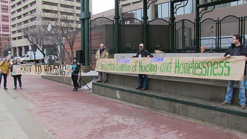 ECOHH Right to Housing Rally