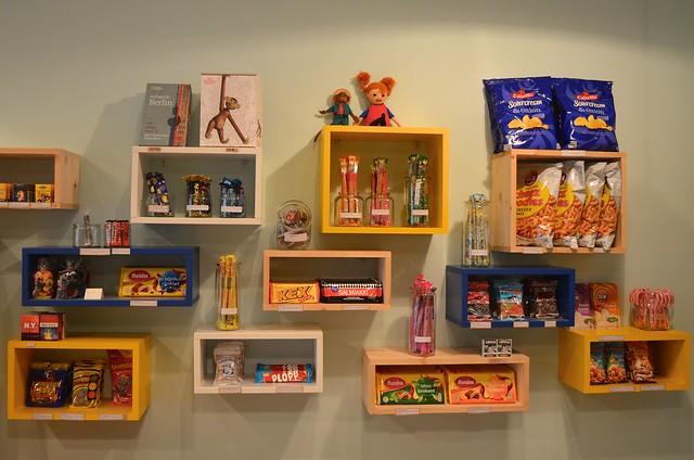 Herr Nilsson Godis Berlin_ Scandinavian candy store_ shop shelves with imported treats
