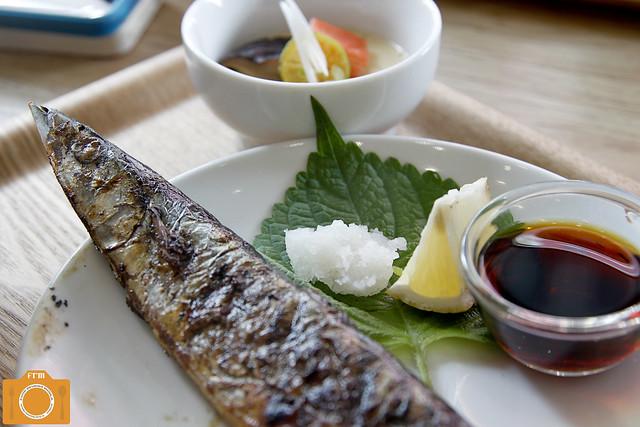Chibi's Kitchen Sanma Shioyaki