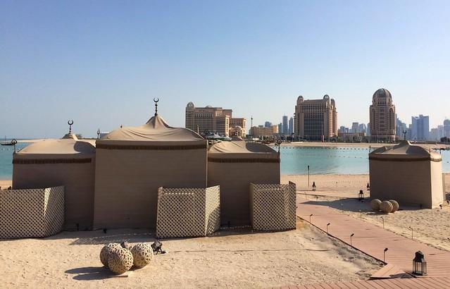 katara beach doha