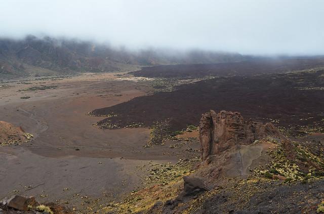 Low cloud in Teide National Park, Tenerife