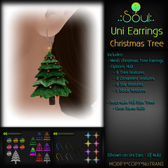 2014 UniEarrings ChristmasTrees - Full