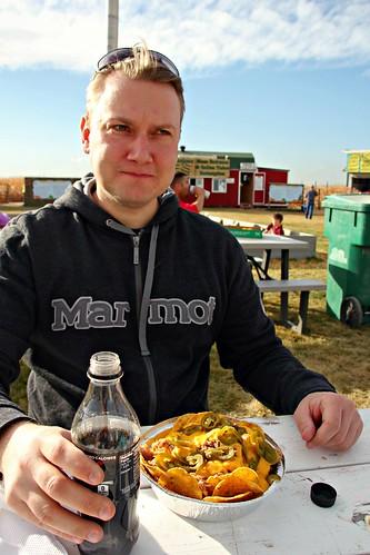 Pork Nachos at Fritzler Corn Maze