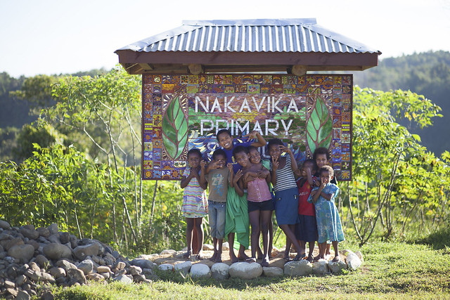 A new addition to the beautiful landscape (Nakavika, Fiji)