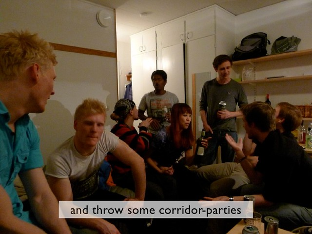 nightlife corridor party