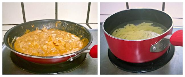 Guy Fieri Cookware in use