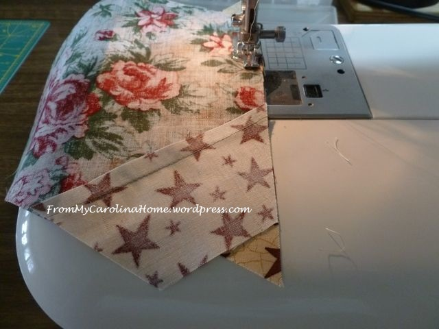 Christmas Hexagonal Table Topper 7