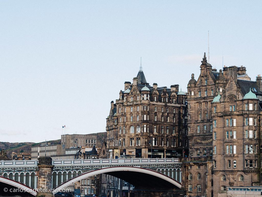 En las calles de Edimburgo