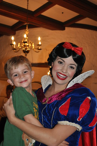 Lunch with Snow White