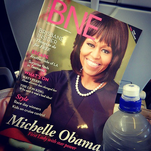 The First Lady is a long way from home. #Brisbane @FLOTUS @michelleobama