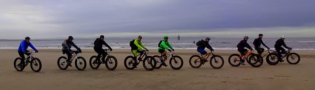 """Gomez from FatBike.com says """"I don't know anyone that can choreograph a rolling beach echelon, like John"""""""
