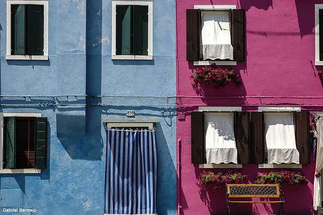 Couple of colors - Burano - Italy