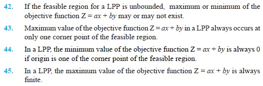 Class 12 Important Questions for Maths - Linear Programming