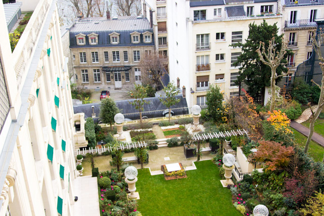 the view from the Shangri-La Paris