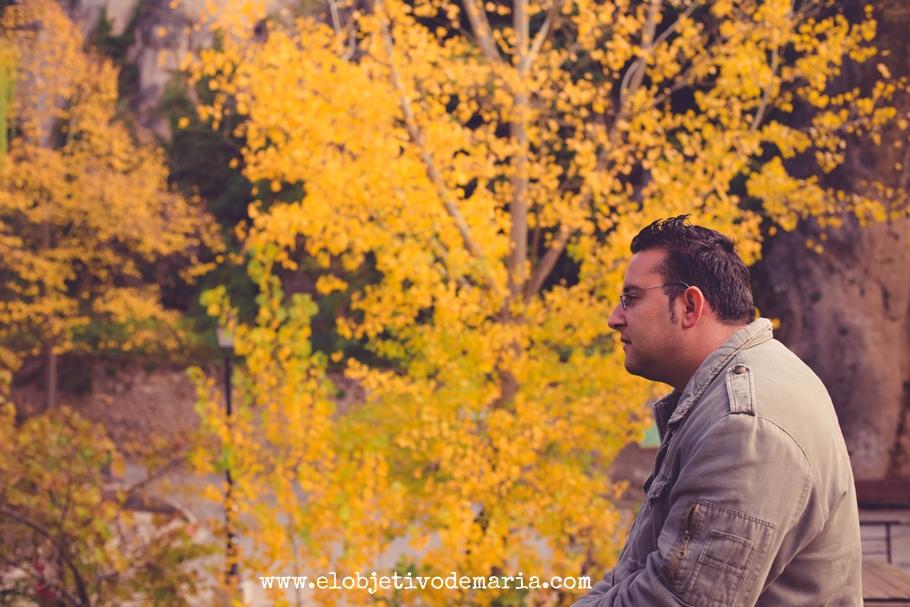mirando el otoño