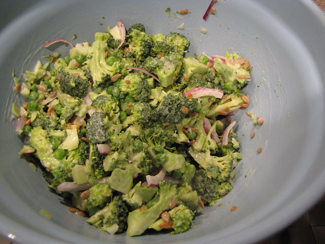 Broccoli & Pea Salad