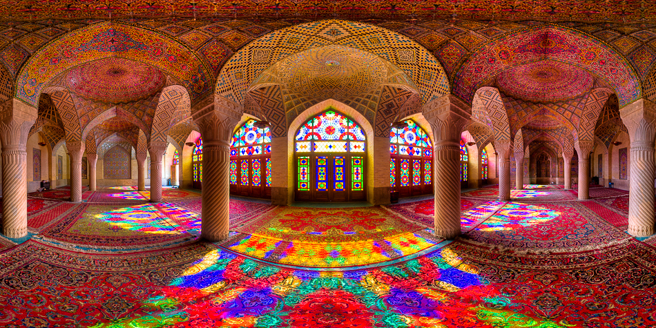 Nasir al-Mulk mosque, photo by Mohammad Reza Domiri Ganji