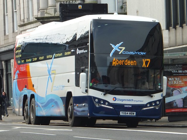 stagecoach X7 Coastrider