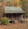 Log Cabin, Pioneer Homestead - O'Bannon Woods State Park, Southern Indiana