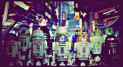 Droids' day out...