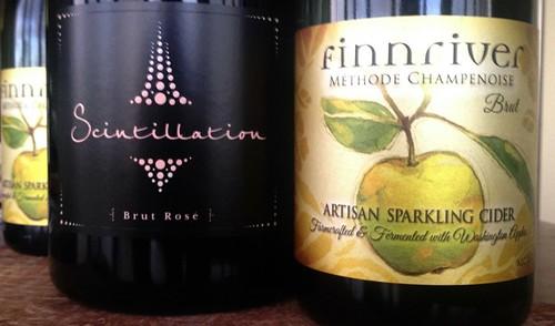 washington sparkling wine and cider