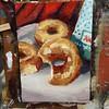 """Nemesis"" 5x7"" oil on canvas panel 16/30 #krispyKreme #dailypainting #donut #oilpainting #painting #stillLife #justOneMore"