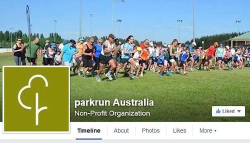 parkrun Australa Facebook page