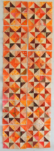 Orange Broken Dishes Blocks