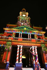 Sydney Town Hall - Christmas Lights 2014