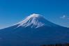 三ッ峠山荘からの富士山のアップ