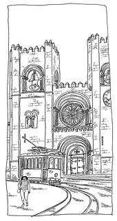 Portugal, Lisbon, Cathedral de Sé