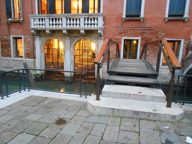 ponte, Carlo Scarpa, fondazione Querini, Venezia