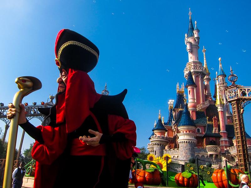 Jafar in Maleficent Disney Villains Promenade