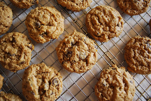 Sweet Potato Chocolate Chip Cookies (v/gf) #fbcookieswap