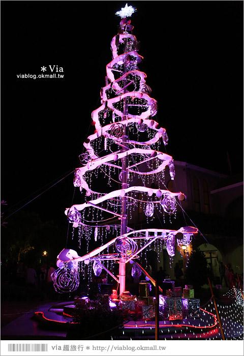 【萬金教堂】屏東萬金教堂聖誕季~3D光雕秀+耶誕地景藝術/全台最濃耶味小鎮!34