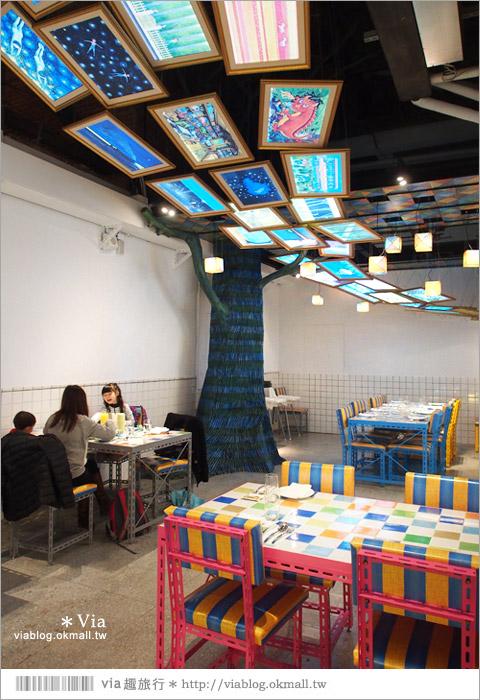 【台北幾米餐廳】華山幾米品牌概念餐廳~故事團團轉/是美味的餐廳,更是文創概念店17