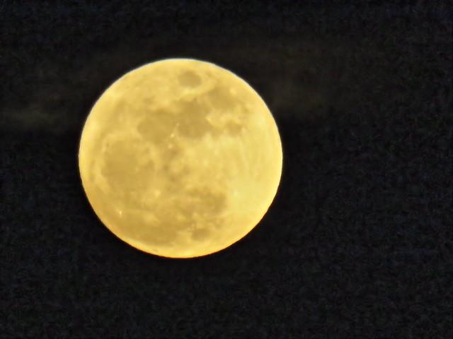 Wolf Moon rising 220150104