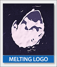 Melting Logo Reveal