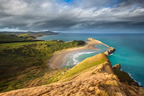 newzealand landscape neuseeland castlerock castlepoint