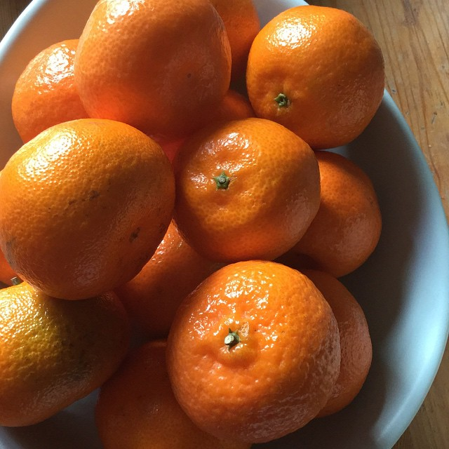 Christmas clementines #vitaminc #orange #nofilter