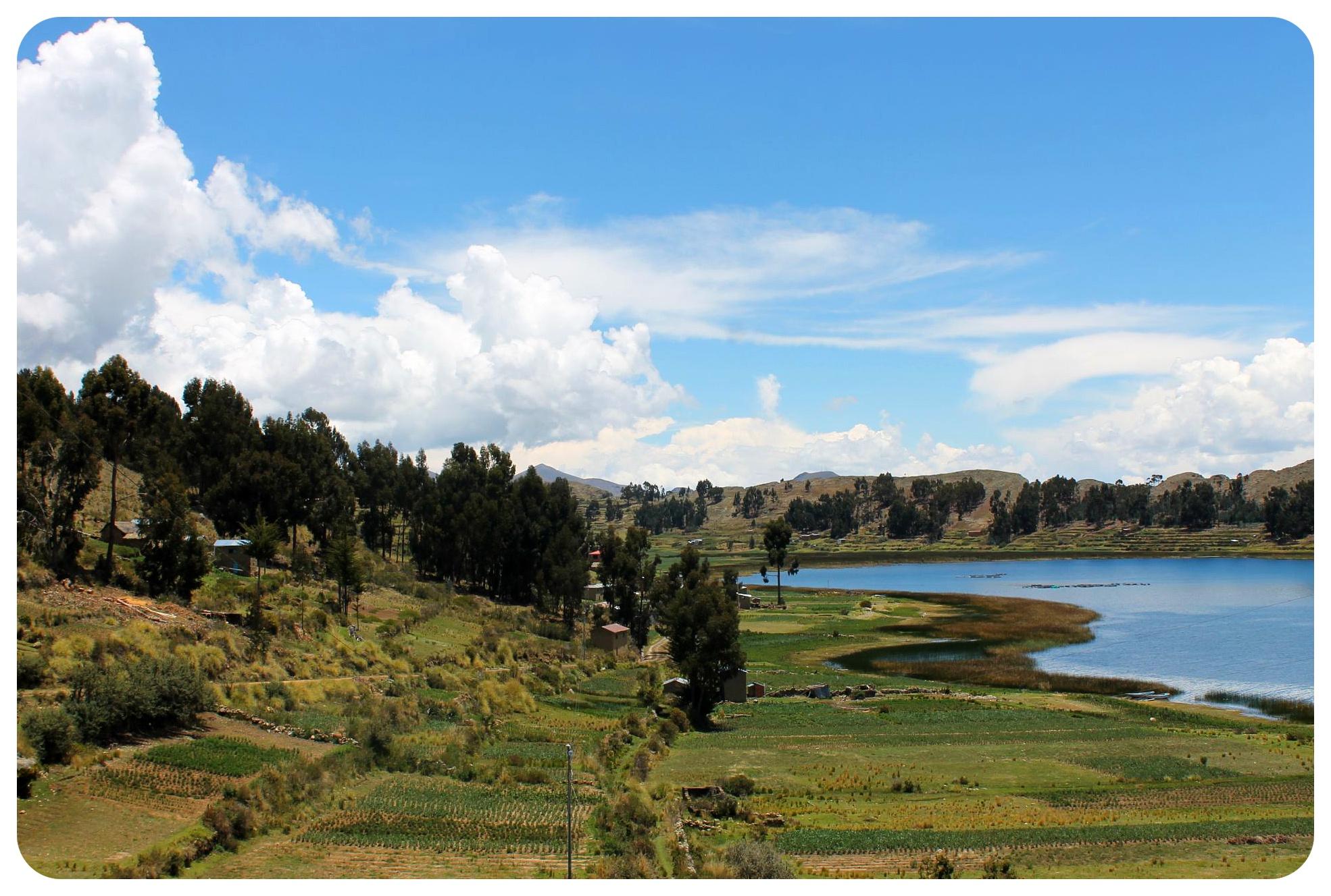 lake titicaca views