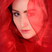 Veiled in Red by charlieishere@btinternet.com