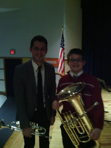 Dec 17 2014 Clark 6th grade band concert (4)