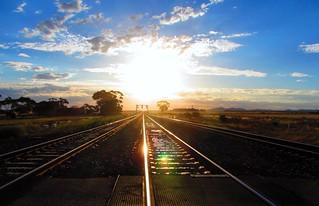 heading into the sun