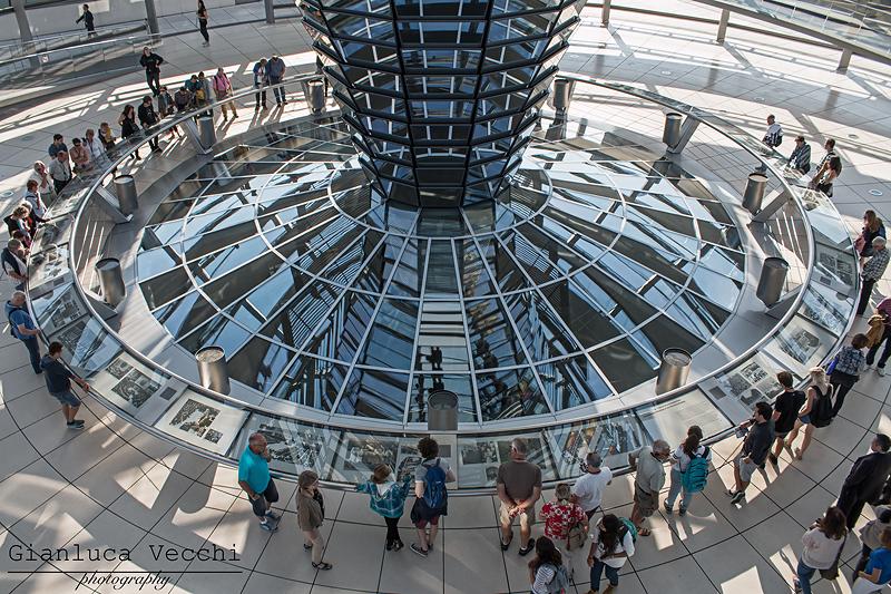 Visitare il Reichstag a Berlino