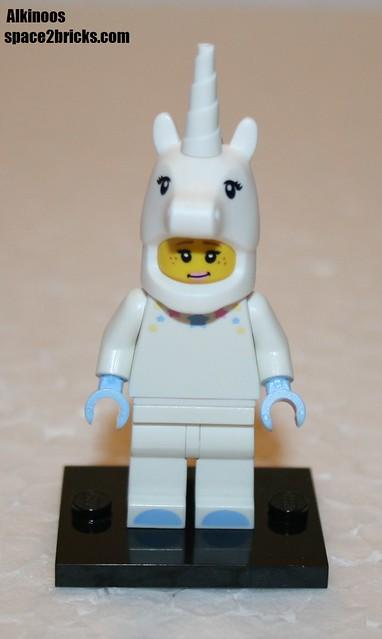 Lego Minifig série 13 unicorn girl p1