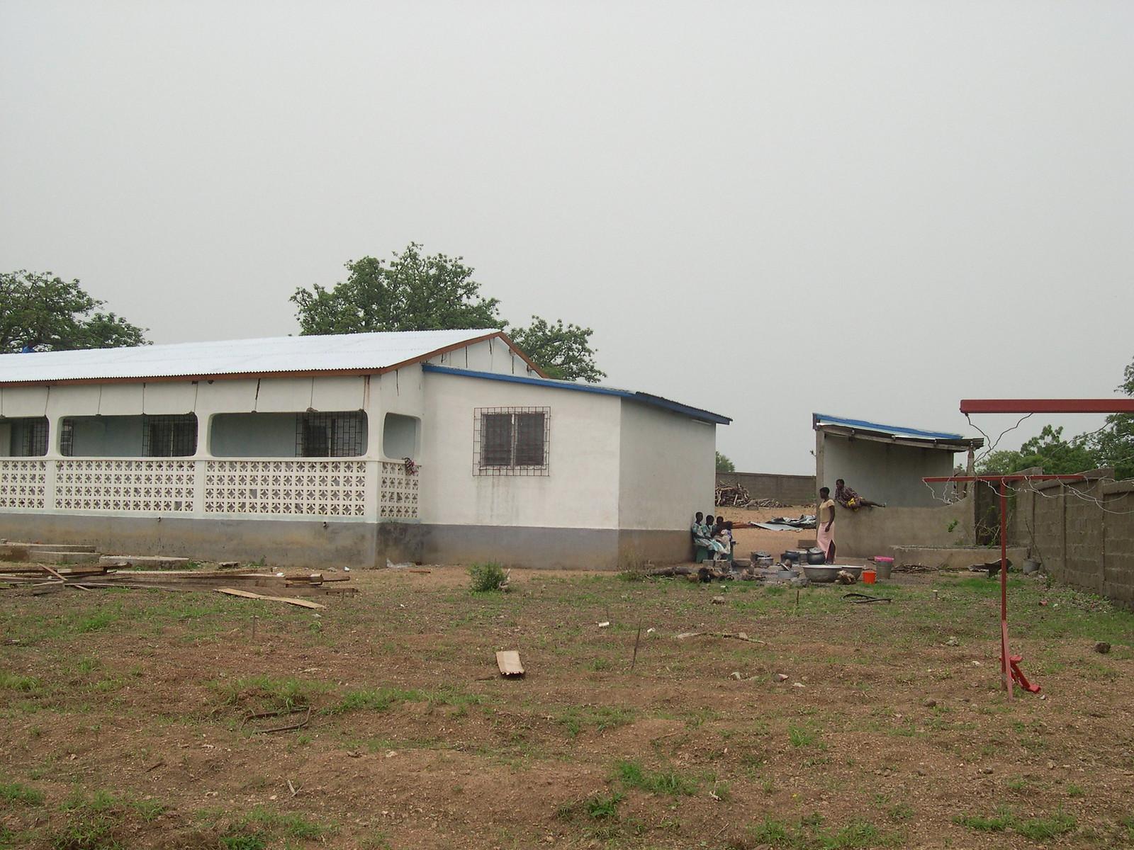 NANOBA Giugno 2004 Il tetto è ultimato